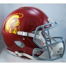 USC Trojans NCAA Authentic Speed Revolution Full Size Football Helmet from Riddell by