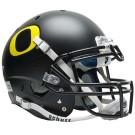 Schutt NCAA Oregon Ducks ALTERNATE BLACK Full Size AiR XP Authentic Football Helmet by