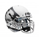 Schutt NCAA Oregon Ducks ALTERNATE WHITE LIQUID METAL with Wings Full Size AiR XP... by