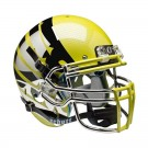Schutt NCAA Oregon Ducks ALTERNATE YELLOW LIQUID METAL with Wings Full Size AiR XP... by