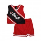 Reebok Two Piece Kansas City Chiefs NFL Cheerleader Uniform Set (Size 4 to 6X)