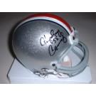 "Howard Cassady Autographed Ohio State Buckeyes Riddell Mini Helmet with ""55"" Inscription"