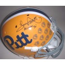 "Tony Dorsett Autographed Limited Edition Pittsburgh Panthers Schutt Full Size Replica Helmet with ""Heisman 76"" Inscription"