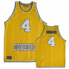 Joe Dumars McNeese State Cowboys Hardwood Legends Throwback Basketball Jersey