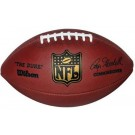 """The DUKE"" F1100 Wilson® Official NFL® Leather Game Football (Commissioner Roger Goodell)"