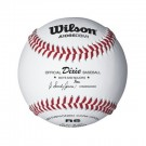 Dixie Boy's and Majors Baseballs from Wilson - Case of 10 Dozen by