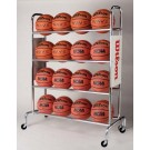 Deluxe Ball Rack (16 Basketballs) from Wilson by