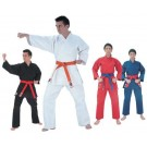 Blue Fighter Plus Karate Middle Weight Uniform (Size 4) from Starpak