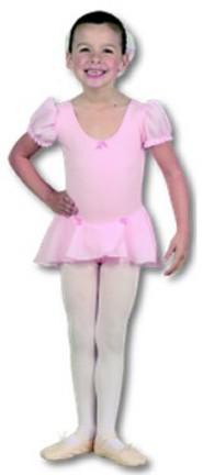Danshuz Children's Puff Sleeve Dance Dress