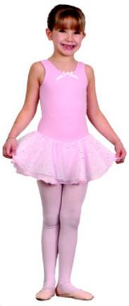 Danshuz Children's Tank Dress with Hologram Skirt