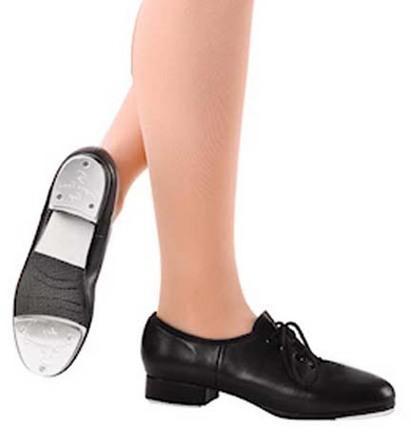 Danshuz Adult Black Slammer Tap Shoes