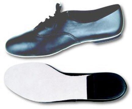 Danshuz Men's Black All Leather Jazz Oxfords Jazz Shoes