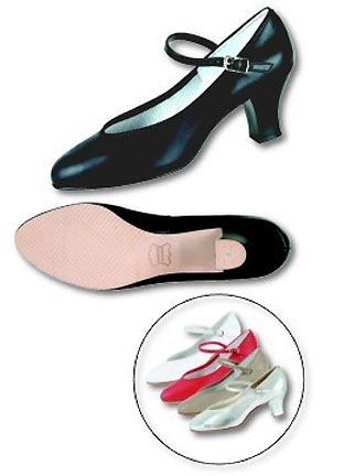 Danshuz Women's Silver Musical Comedy Dance Shoes