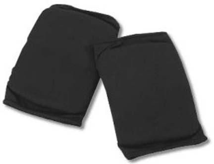 Adult Black Knee Pads for Dancers (Set of 2 Pairs)