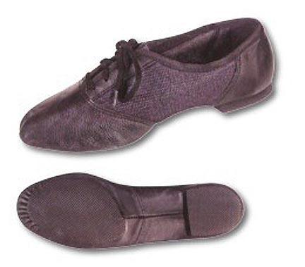 Danshuz Youth Black Combo Split Sole Jazz Shoes (Sizes 12 - 3)