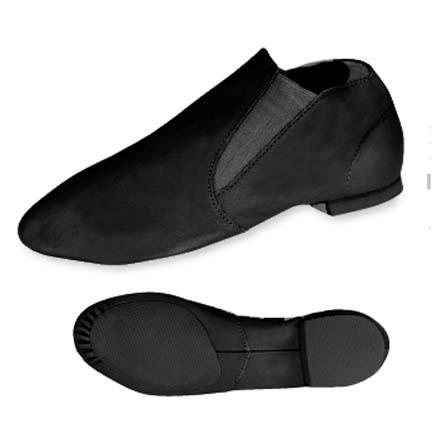 Danshuz Adult's Black Gore Jazz Boot Jazz Shoes