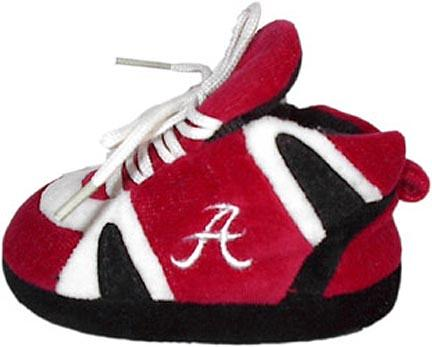 Alabama Crimson Tide Comfy Feet Baby Infant Slippers