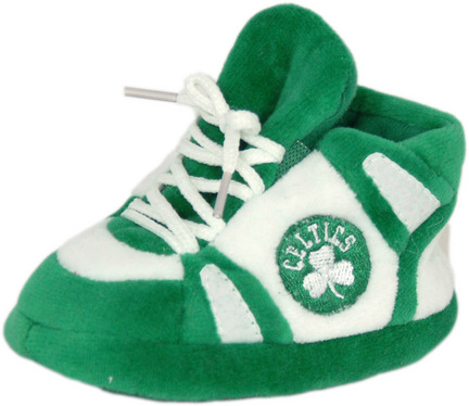 Boston Celtics Comfy Feet Baby Infant Slippers