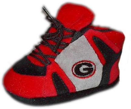 Georgia Bulldogs Comfy Feet Baby Infant Slippers