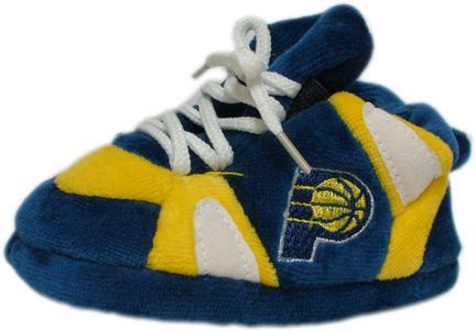Indiana Pacers Comfy Feet Baby / Infant Slippers