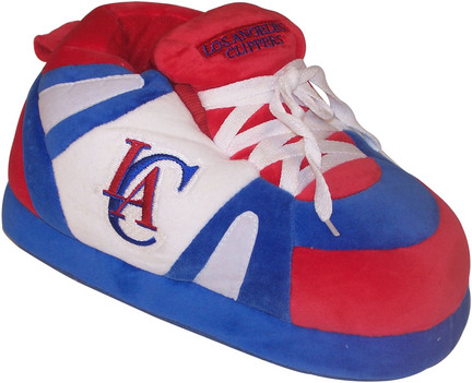 Los Angeles Clippers Original Comfy Feet Slippers (Size XX-Large)