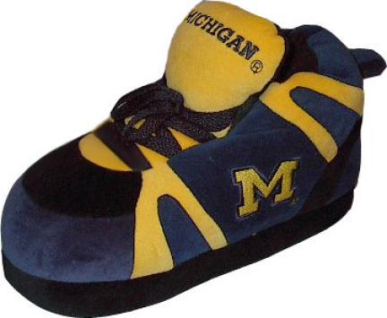 Michigan Wolverines Original Comfy Feet Slippers