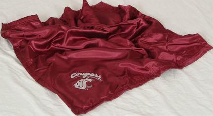 "Washington State Cougars 28"" x 28"" Baby Blanket"