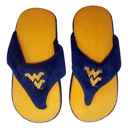 West Virginia Mountaineers Comfy Flop Slippers