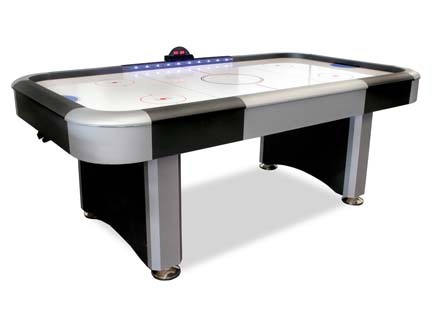 American Legend Electra™ 7' Interactive Lighted Rail Air Hockey Table DM-HT274