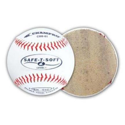 """9"""" Champro Safe-T-Soft Baseballs - 1 Dozen"""