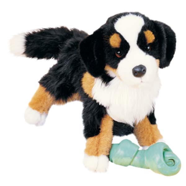 Click here for Trevor the 16 Bernese Mountain Dog Plush Stuffed A... prices