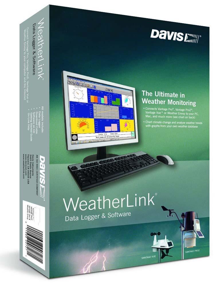 WeatherLinkIP™ Software (for Vantage Stations) from Davis Instruments