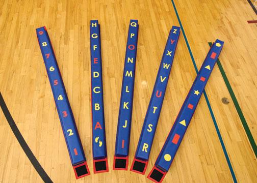 WeeKidz Balance Beam Complete Set of 5 from Everlast Climbing