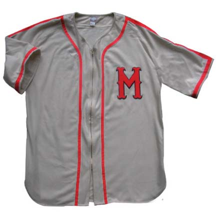 1938 Minneapolis Millers Throwback Road Jersey with #17 from Ebbets Field Flannels