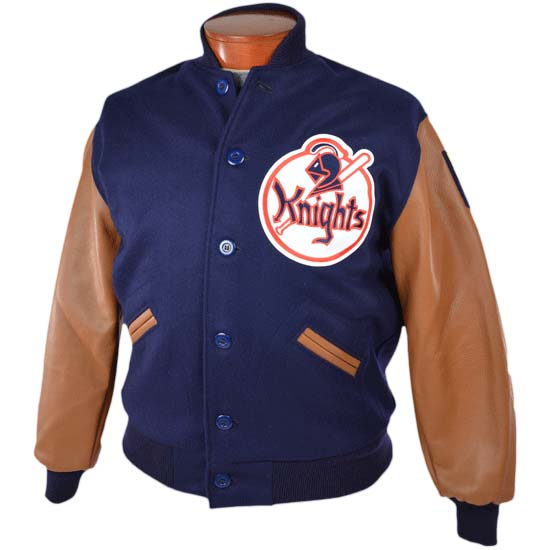 """1939 New York Knights """"The Natural"""" Wool Throwback Jacket from Ebbets Field Flannels"""