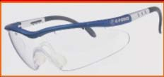 Crystal Wrap Racquetball Protective Eyewear from E-Force