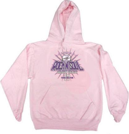 """Todd Helton """"Rock N Soul"""" Hoodie Sweatshirt (Pink)"""