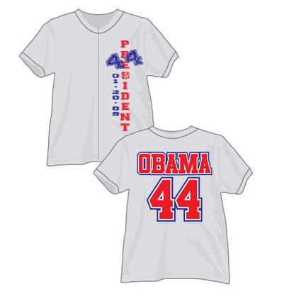 Barack Obama 44th President Jersey