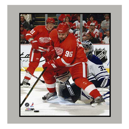 """Tomas Holmstrom 11"""" x 14"""" Matted Photograph (Unframed)"""
