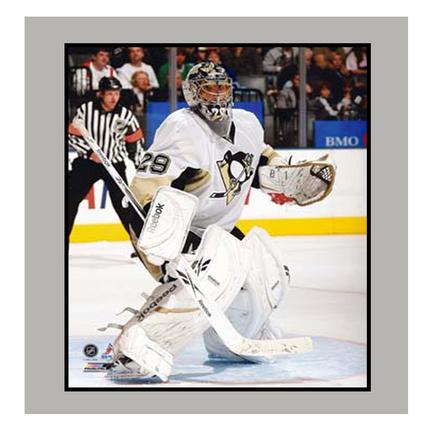 """Eric Godard Pittsburgh Penguins Photograph 11"""" x 14"""" Matted Photograph (Unframed)"""
