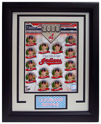 """2008 Cleveland Indians Photograph in a 11"""" x 14"""" Deluxe Frame"""
