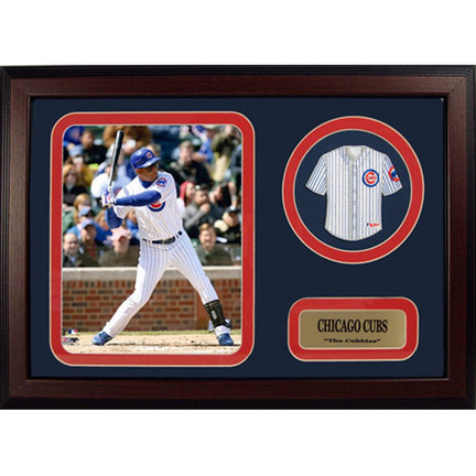 "Aramis Ramirez Photograph with Team Jersey Patch in a 12"" x 18"" Deluxe Frame"