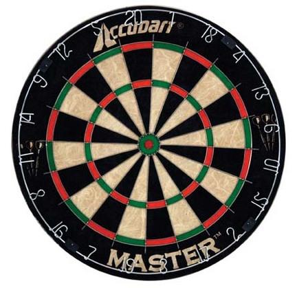 Accudart Master Bristle Dart board