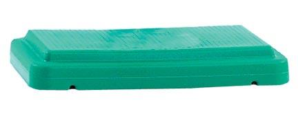 "The Step® Stackable 4"" Green Riser"