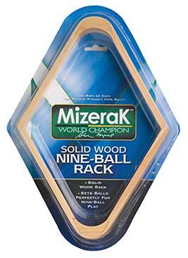 Wooden 9-Ball Rack from Mizerak™ - Set of 3