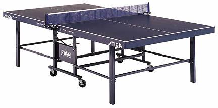 Stiga® Expert Roller 2-Piece Table Tennis Table