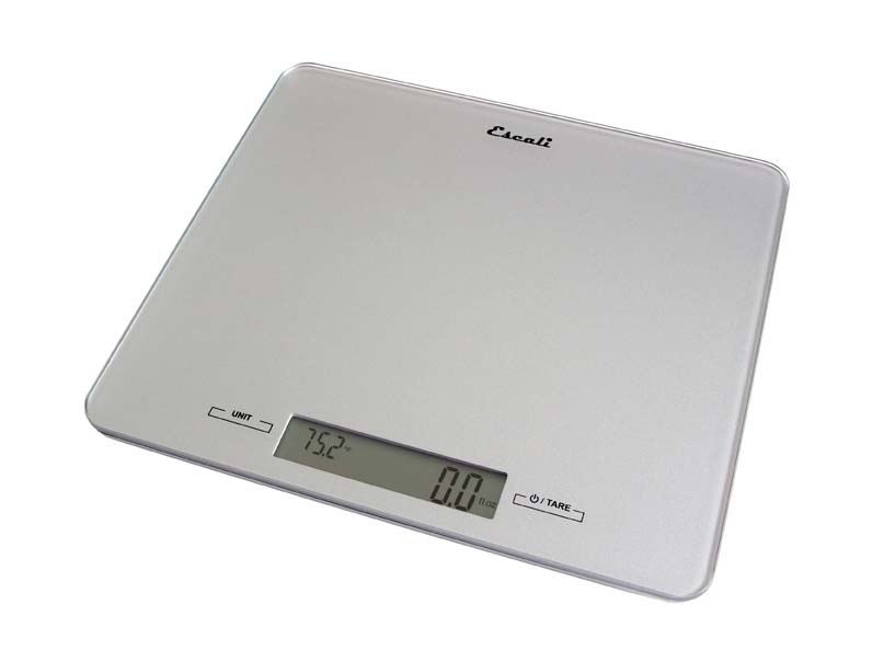 Alta Glass Top Digital Kitchen Scale (22 lb. / 10 kg. Capacity) ESI-2210G