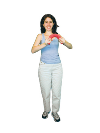 Cando Twist-n-Bend Wrist and Arm Exerciser - Blue (Heavy)