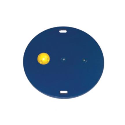 "Cando MVP 20"" Wobble Balance Board with 1 Yellow Hemisphere - X-Easy"