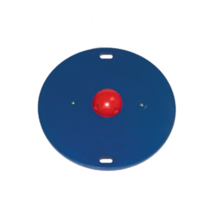 "Cando MVP 16"" Wobble Balance Board with 1 Red Hemisphere - Easy"
